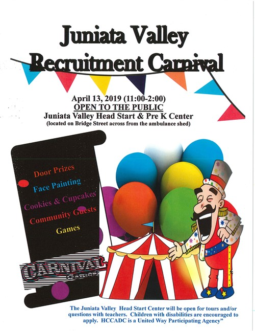 Visit the Juniata Valley Recruitment Carnival